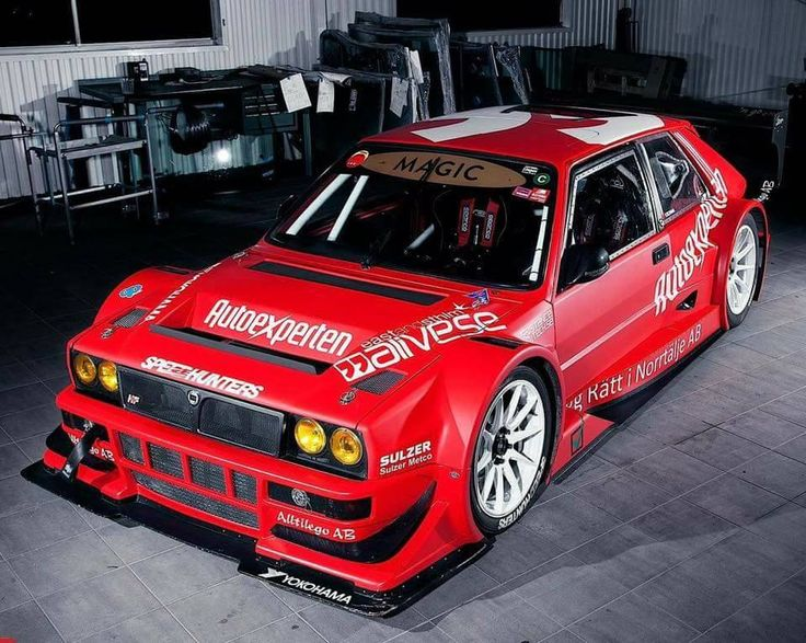 Lancia Delta Integrale HF Hillclimb version tuning