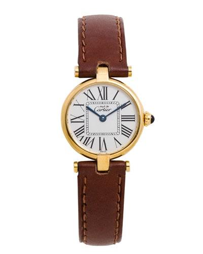 Cartier Women's 'Must de Cartier Vermeil' Watch