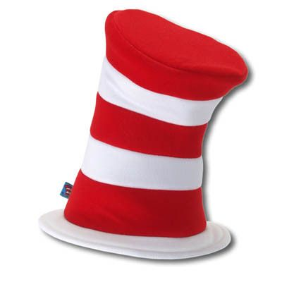 Cat in the Hat Plush Hat