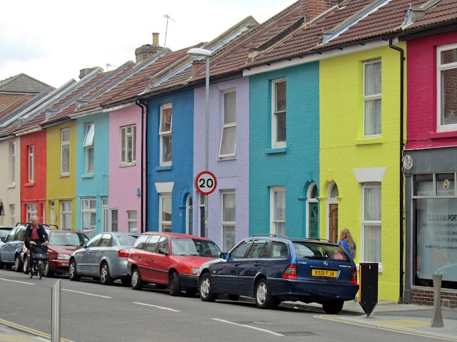 pick a color any color.  portsmouth england uk