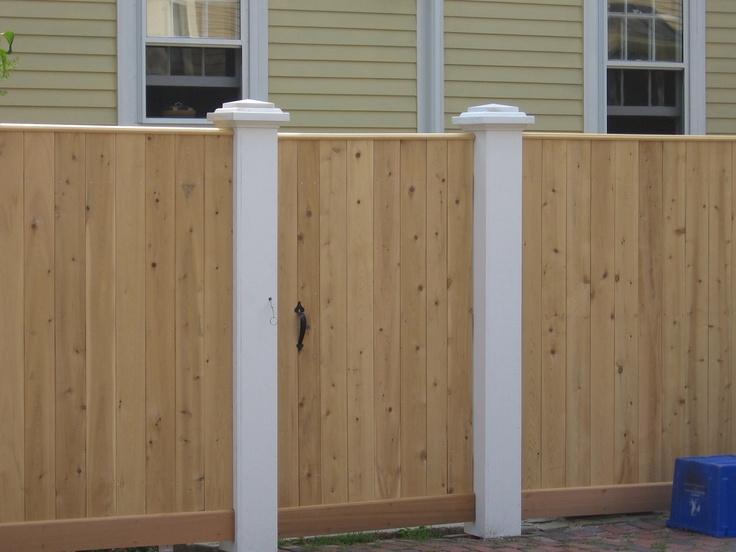 46 Best Fences Images On Pinterest Privacy Fences Cedar