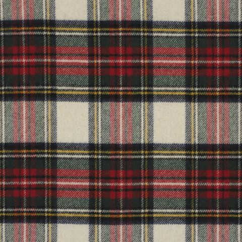 Maclean Tartan – Winter White - Tartans - Fabric - Products - Ralph Lauren Home - RalphLaurenHome.com