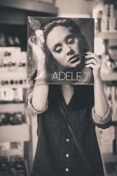 Adele album cover.