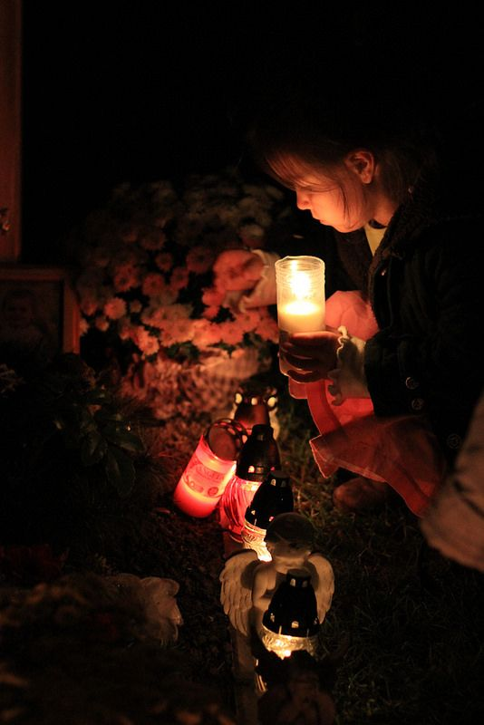 All Saints and All Souls Day in Slovakia (Nov. 1 & 2) The cemeteries are alight with candles and Slovaks remember the deceased.