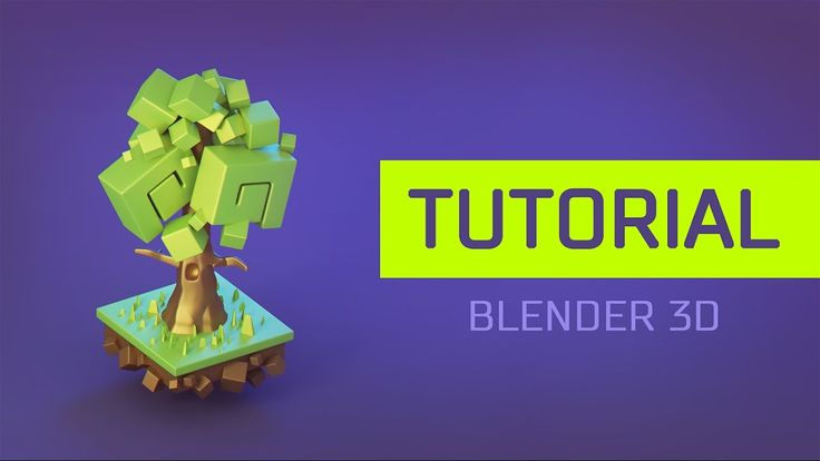 [Tutorial] How to create a 3d Cartoon Stylised Tree in Blender 3d