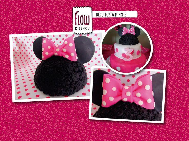 Deco torta. Minnie Mouse!!