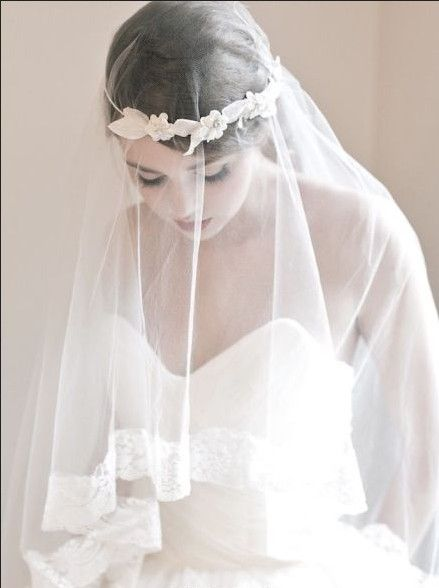 Veil is another hair style for a bride to be