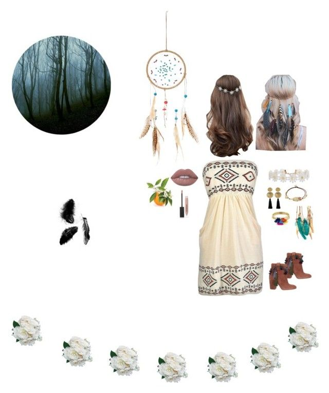 """""""Bohemian"""" by dindameitiza on Polyvore featuring Strategia, Gas Bijoux, Humble Chic, Aqua, Gorjana, ASOS, Boohoo and Burberry"""