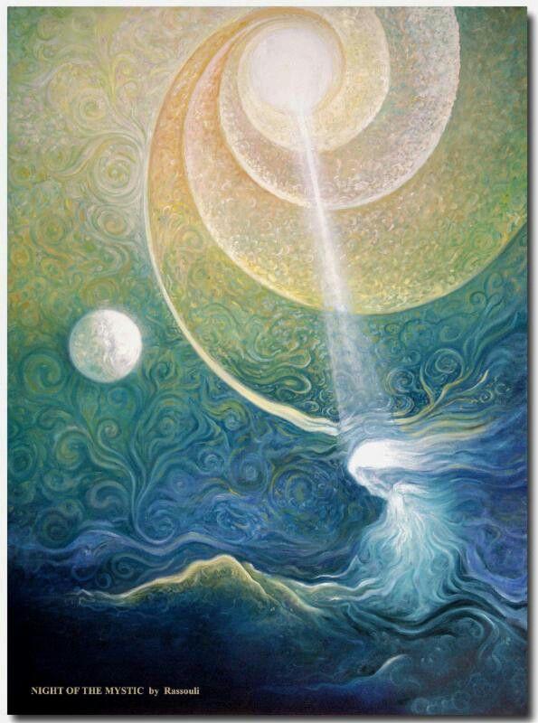 The night of the mystic by Freydoon Rassouli.