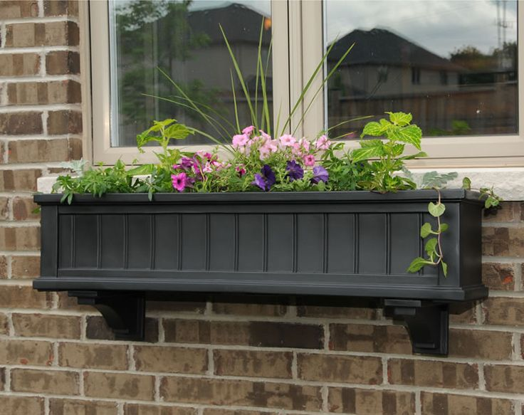 17 Best ideas about Wooden Window Boxes on Pinterest | Window ...