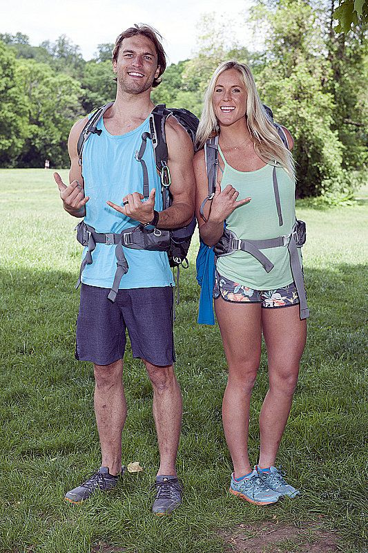 Bethany Hamilton on the new season of The Amazing Race