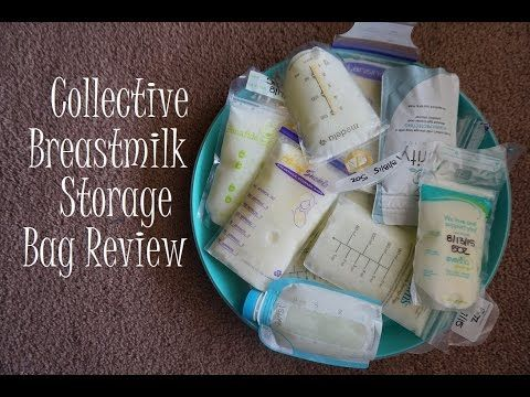 Collective Breastmilk Storage Bag Review - YouTube