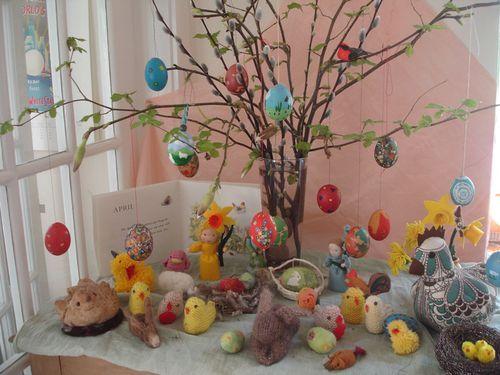 Seasonal nature table Spring