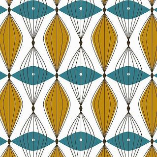 Gold And Turquoise Black Mid Century Modern Fabric Vintage Color Schemes Fabrics In 2018 Pinterest Design Pattern