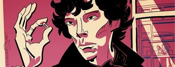 Designer cria pôsteres fantásticos de Sherlock! | Nerdivinas