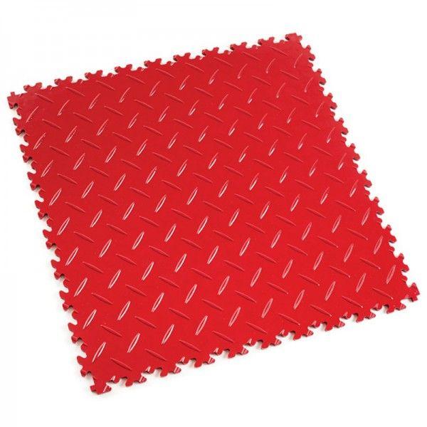 "Dalle PVC garage Fortemix Fortelock 2050 Diamond ""Rouge"""