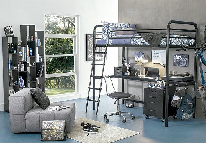 Tok&Stok Quartoteen Conforto e praticidade são indispensáveis para montar o quarto de qualquer Geek.