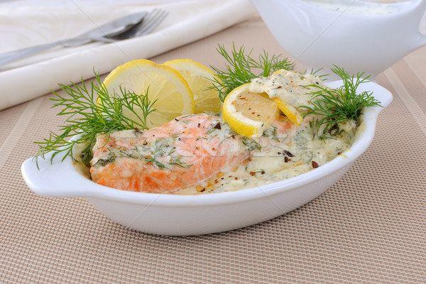 ЛОСОСЬ ЗАПЕЧЕННЫЙ ПОД СОУСОМ ИЗ ТРАВ     Это рыбное блюдо всегда изыскано и быстро готовится. Лосось получатся нежным и ароматным, но таким способом можно готовить практически любую рыбу. Дополнительно можно приправить сливочный соус тертым хреном, карри, свежей кинзой или шафраном.    http://madam-mirage.ru/recepty/161-losos-zapechennyy-pod-sousom-iz-trav.html  #рецепты #ВторыеБлюда #рыба