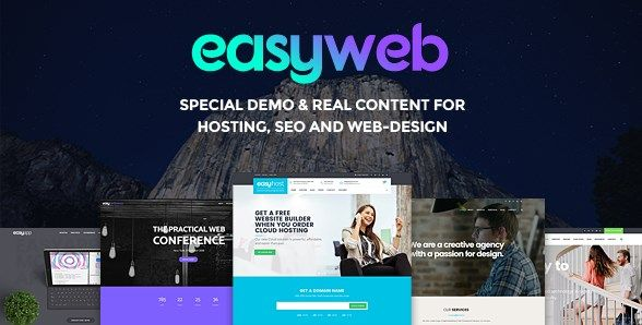 Download EasyWeb  WP Theme For Hosting and Web-design Agencies v2.1.9 Download EasyWeb  WP Theme For Hosting and Web-design Agencies v2.1.9 Latest Version