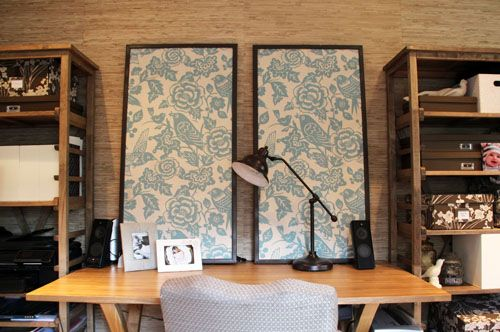 Fabric Corkboard idea