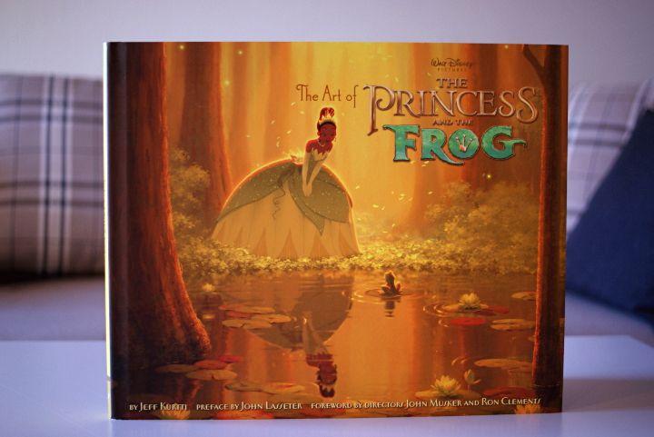 The art of Princess and the frog | Prinsessa ja sammakko taidekirja - Disnerd dreams