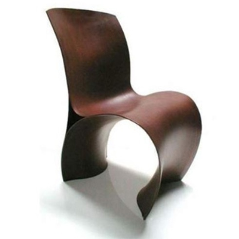 Ron Arad Three Skin Chair   The Three Skin Chair Is Produced Using Wood For  The First Time. Powerfully Sculptural And Extremely Sinuous, Three Skin  Chair Is ...