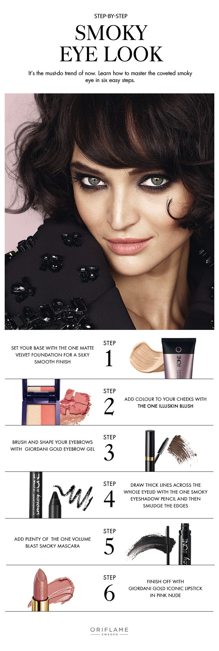 It's hot now and forever will be. The smoky eye look is like the LBD, a timeless essential every woman needs in her life.