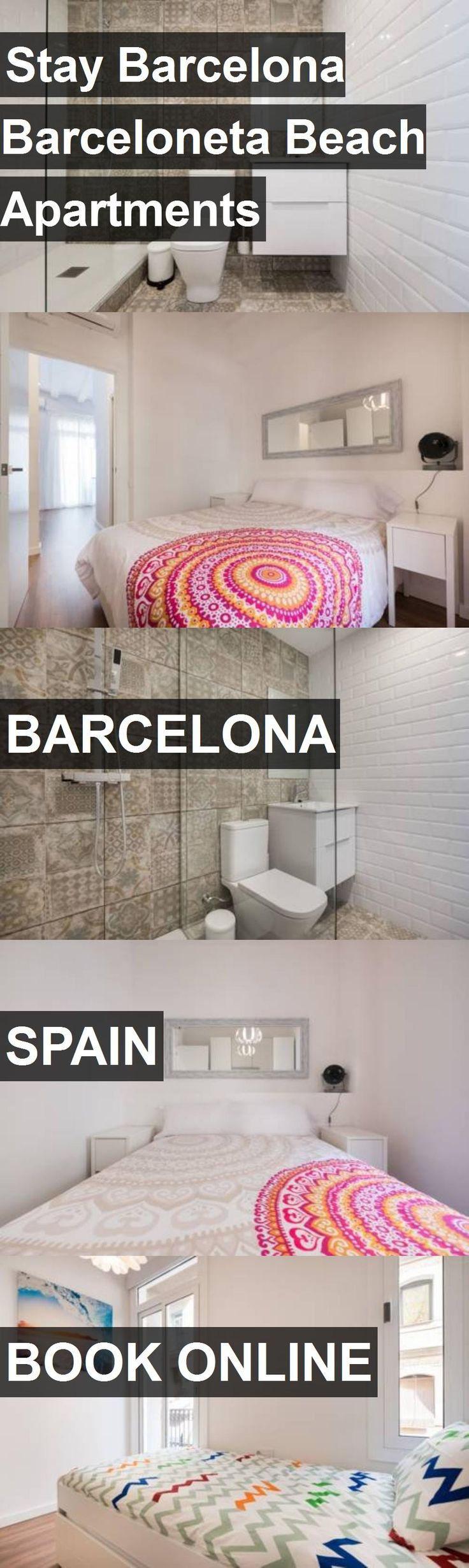 Stay Barcelona Barceloneta Beach Apartments in Barcelona, Spain. For more information, photos, reviews and best prices please follow the link. #Spain #Barcelona #travel #vacation #apartment