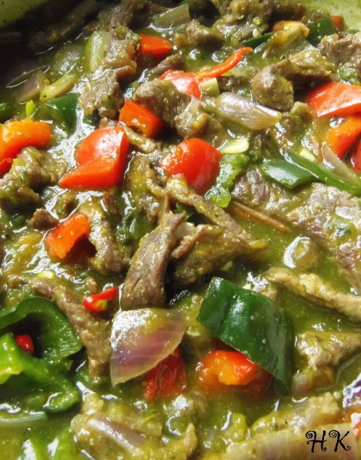 Bistec Ranchero Poblano - Hispanic Kitchen December 2014
