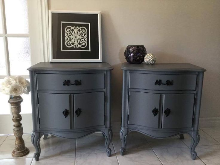 46 best Commodes, armoire, tables de chevet ou de salon images on - Peindre Table De Chevet