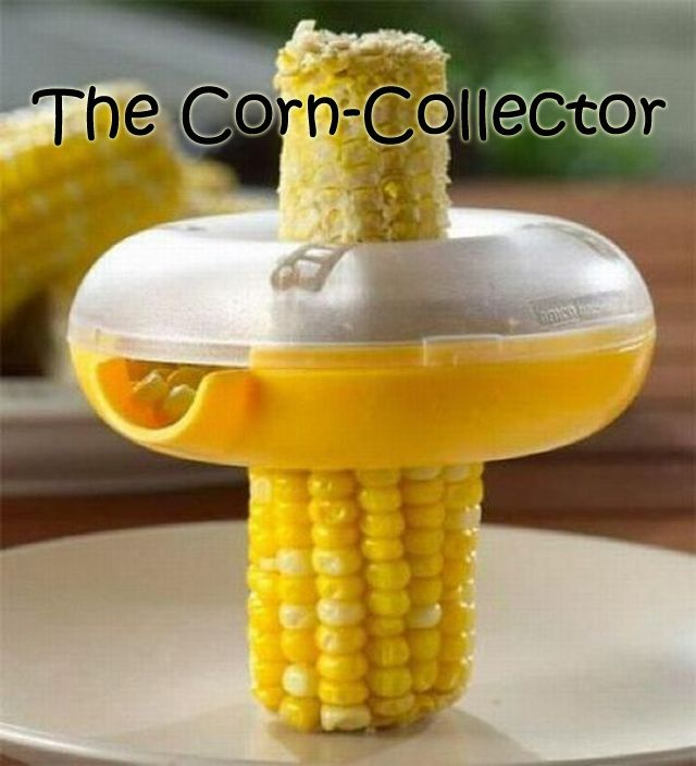 This seems brilliant!: Idea, Corn Kernels, Kitchens Gadgets, Modern Kitchens, Sweet Corn, Kitchens Tools, Weights Loss, Stainless Steel, Kid