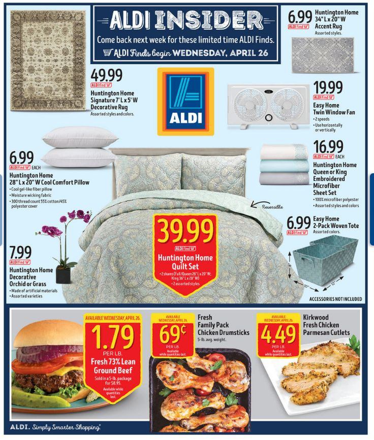 Aldi In Store Ad April 26, 2017 - http://www.olcatalog.com/grocery/aldi-weekly-ad.html