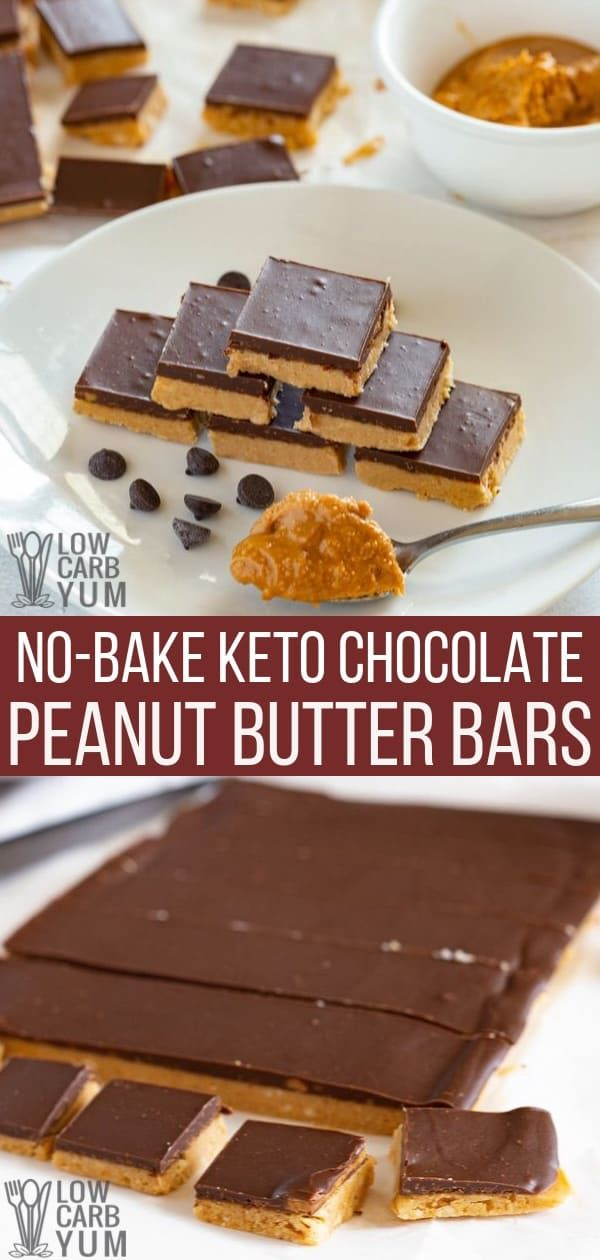 These keto bars are peanut butter treats that tast…