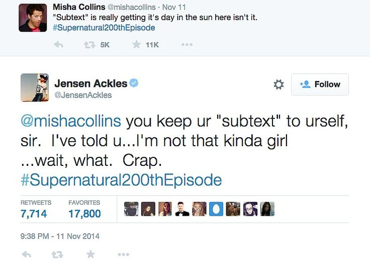 14 Jensen Ackles and Misha Collins Moments That Were Too Much to Handle: Jensen Ackles joined Instagram with an adorable snap last month, and even though he's only posted a handful of photos, we're already overwhelmed.