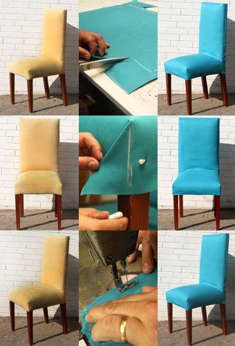 Passo a passo: Aprenda a fazer uma capa para renovar sua cadeira