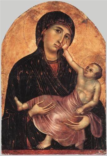 Duccio Madonna and Child
