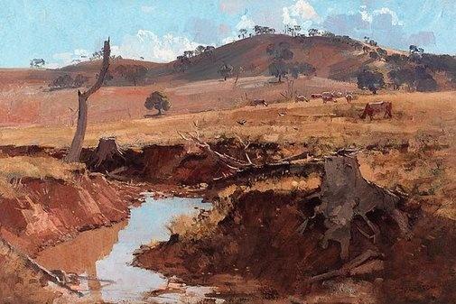 Arthur Streeton  (Australia 1867–1943)