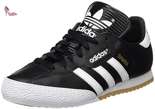 adidas Samba Super, Baskets Basses Homme, Noir (Black/Running White Ftw), 38 2/3 EU - Chaussures adidas (*Partner-Link)