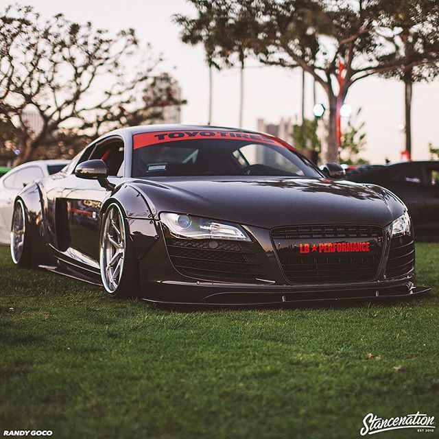 Superieur Such A Good Looking R8.. | Photo By: @itsgoco #stancenation