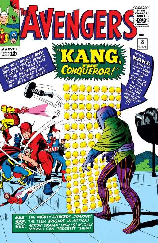 The Avengers #8 - Kang, The Conqueror!