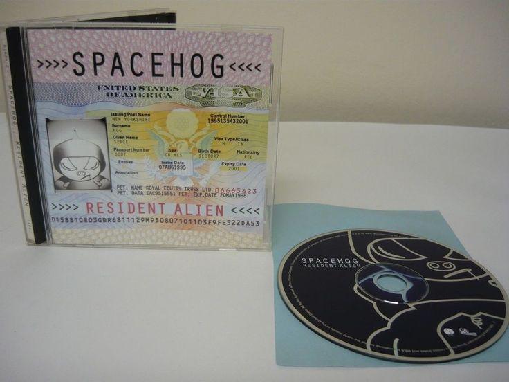 Resident Alien by Spacehog CD Rock Popular Brit PopbIn The Meantime Spacehog #Britpop