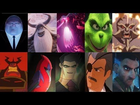 Defeats Of My Favorite ANimated Non Disney Movie Villains