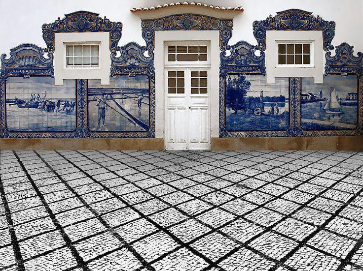 Olhares.com Fotografia | �ANA MARIA ROCHA | Antiga Estaçao de Caminhos de Ferro....
