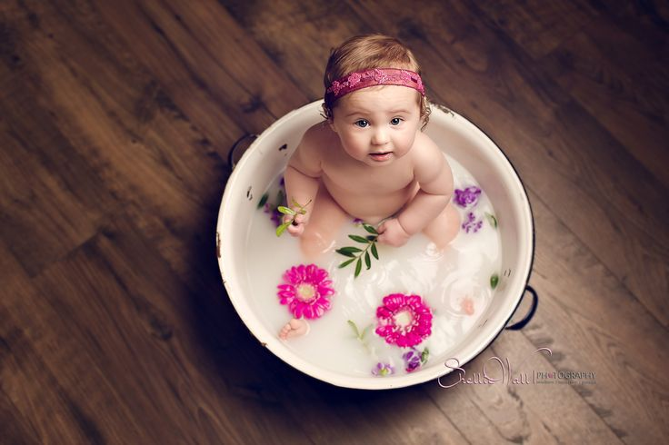 Milk Bath Toddler Session