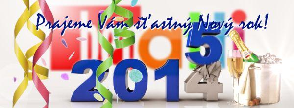 Prajeme Vám šťastný Nový rok!