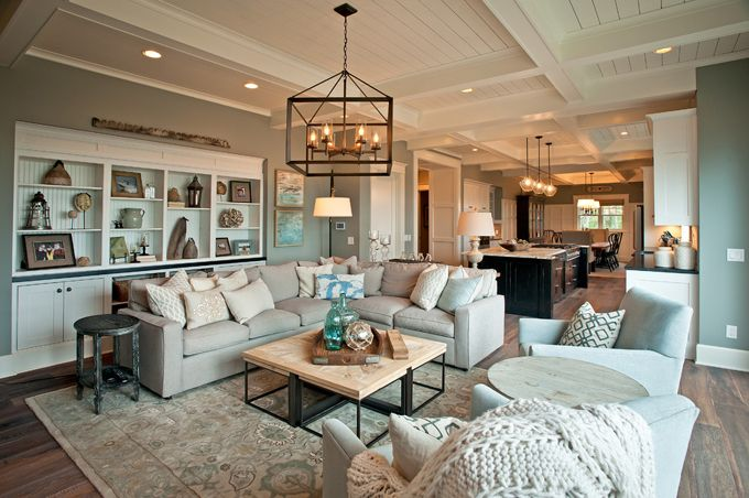 coastal family room | KP Designs and Associates