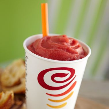 Jamba Juice pomegranate paradise smoothie recipe. Ingredients: ½ cup pomegranate juice, ½ cup fresh orange juice, ½ cup frozen strawberries, ½ cup frozen mangoes, ½ cup frozen peaches