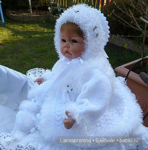 Красивая вязаная одежда для реборняток. / Одежда и обувь для кукол - своими руками и не только / Бэйбики. Куклы фото. Одежда для кукол