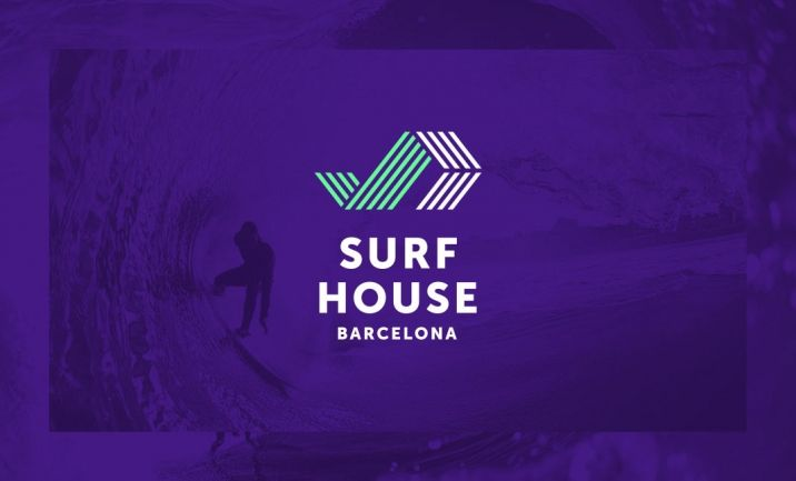 Surf House Barcelona website