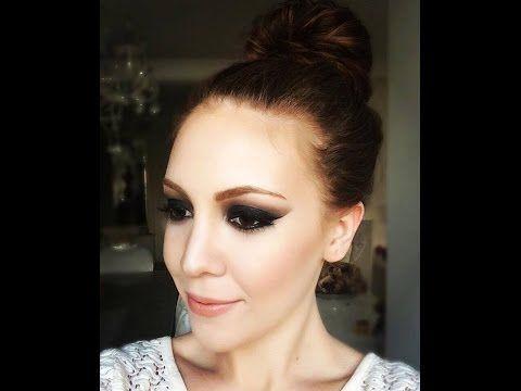 Siyah Bugulu Goz Makyaji ( Black Smokey Eye Makeup Tutorial ) | Aslı Özdel - YouTube